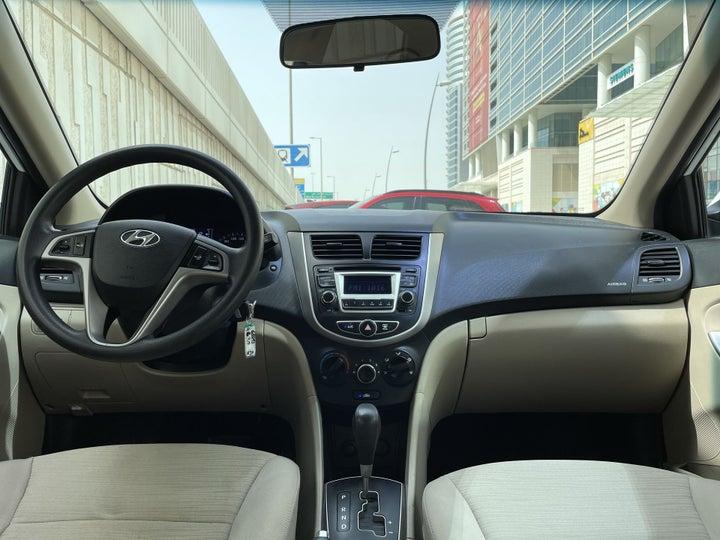 Hyundai Accent-DASHBOARD VIEW