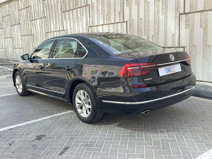 Volkswagen Passat-LEFT BACK DIAGONAL (45-DEGREE) VIEW