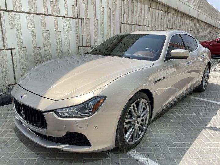 Maserati Maserati Ghibli-LEFT FRONT DIAGONAL (45-DEGREE) VIEW