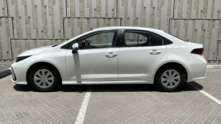 Toyota Corolla-LEFT SIDE VIEW