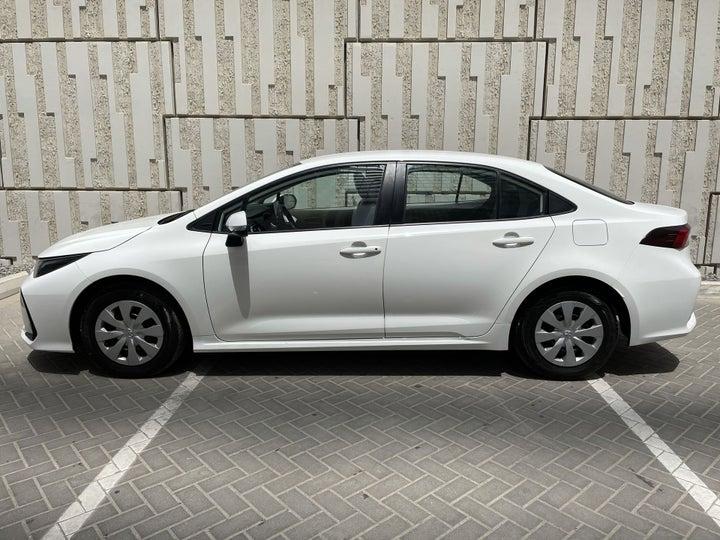 Toyota Corolla-LEFT BACK DIAGONAL (45-DEGREE) VIEW