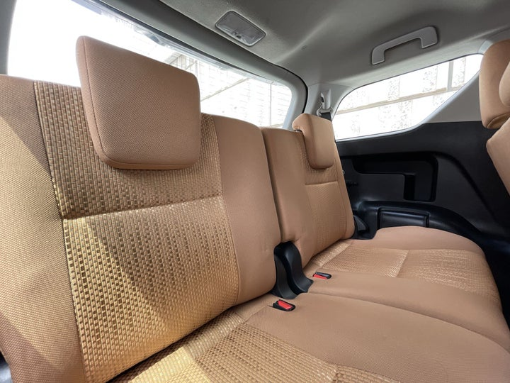 Toyota Fortuner-THIRD SEAT ROW (ONLY IF APPLICABLE - EG. SUVS)