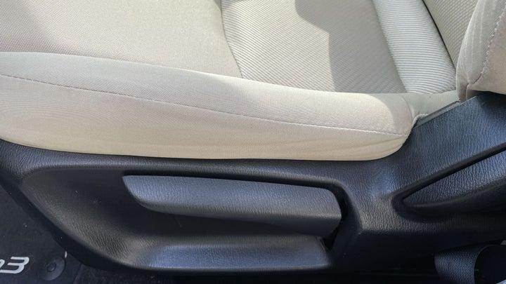 Mazda 3-DRIVER SIDE ADJUSTMENT PANEL