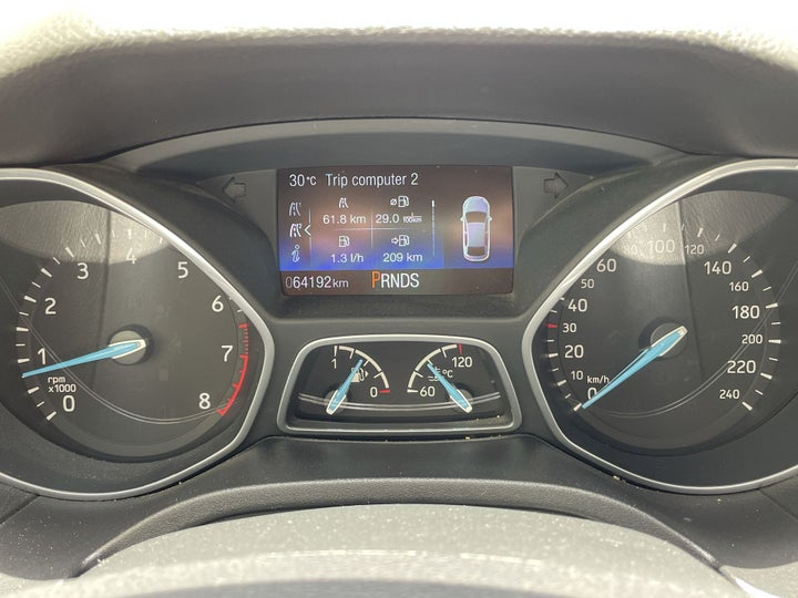 Ford Focus-ODOMETER VIEW