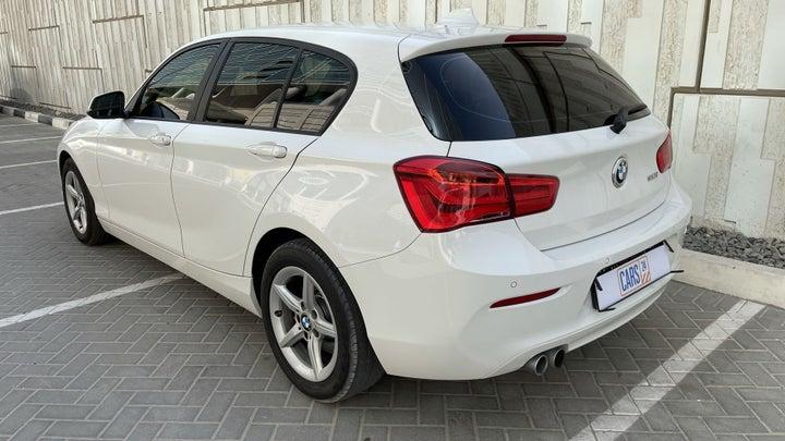 BMW 1 Series-LEFT BACK DIAGONAL (45-DEGREE) VIEW