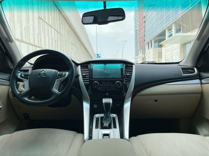 Mitsubishi Montero Sport-DASHBOARD VIEW