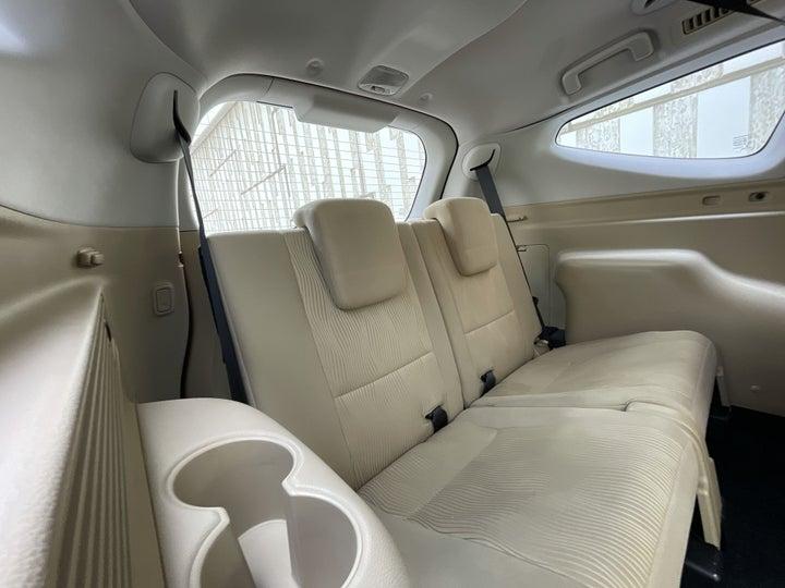 Mitsubishi Montero Sport-THIRD SEAT ROW (ONLY IF APPLICABLE - EG. SUVS)