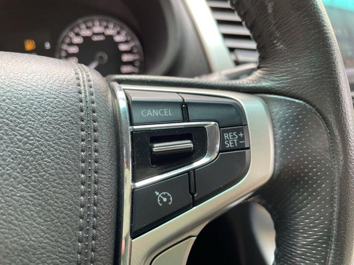 Mitsubishi Montero Sport-CRUISE CONTROL