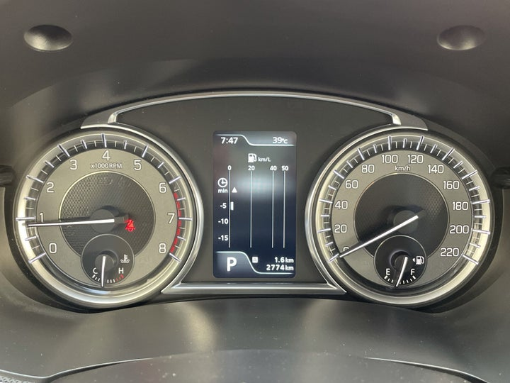 Suzuki Grand Vitara-ODOMETER VIEW
