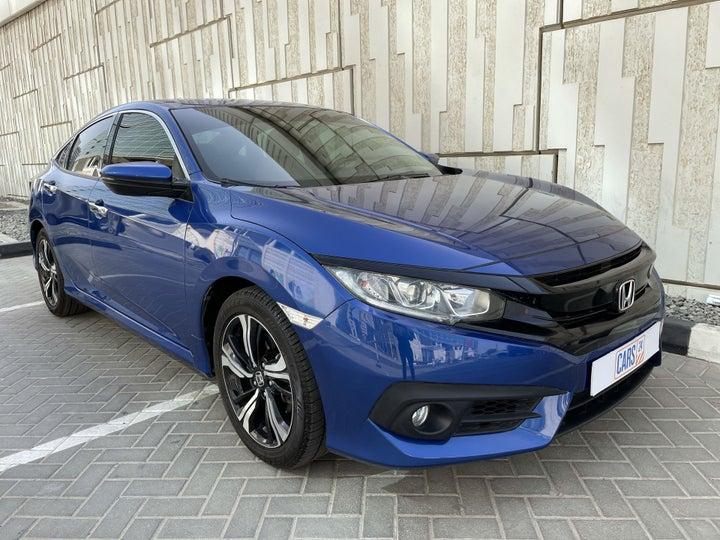 Honda Civic-RIGHT FRONT DIAGONAL (45-DEGREE) VIEW
