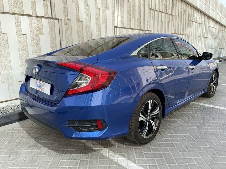 Honda Civic-RIGHT BACK DIAGONAL (45-DEGREE VIEW)