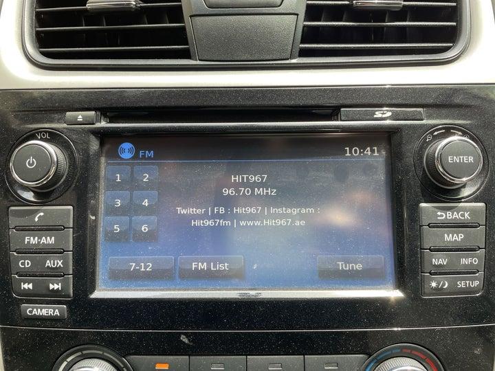 Nissan Altima-INFOTAINMENT SYSTEM