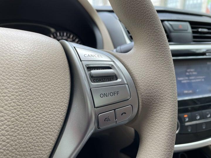 Nissan Altima-CRUISE CONTROL