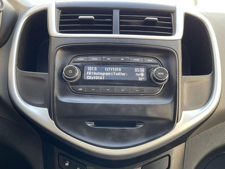 Chevrolet Aveo-INFOTAINMENT SYSTEM