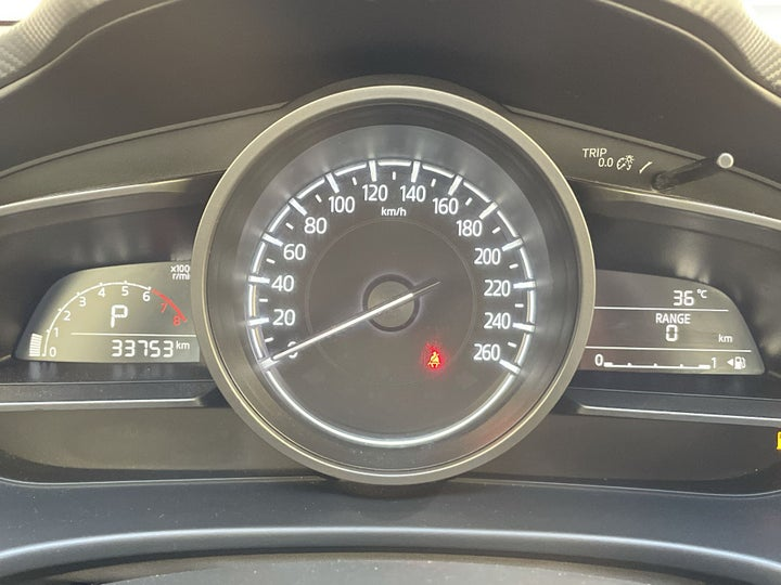 Mazda 3-ODOMETER VIEW