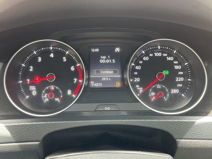 Volkswagen Golf-ODOMETER VIEW