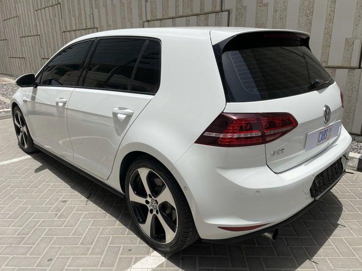 Volkswagen Golf-LEFT BACK DIAGONAL (45-DEGREE) VIEW