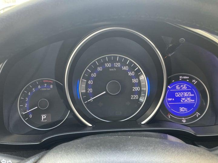 Honda Jazz-ODOMETER VIEW