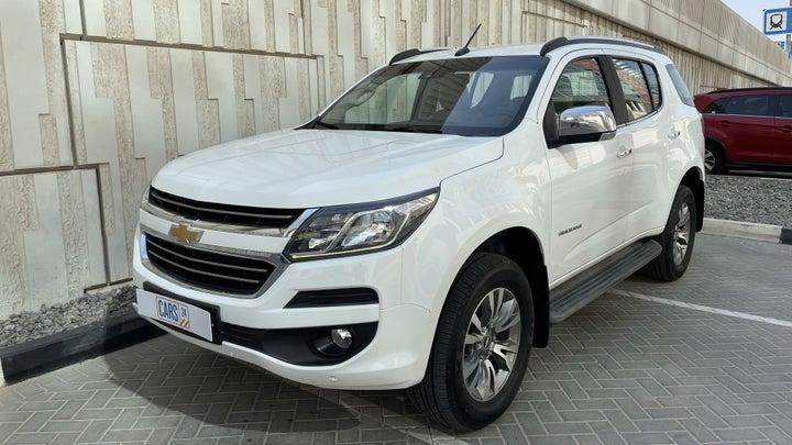 Chevrolet Trailblazer-LEFT FRONT DIAGONAL (45-DEGREE) VIEW
