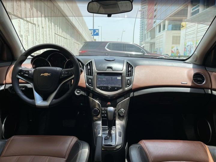 Chevrolet Cruze-DASHBOARD VIEW
