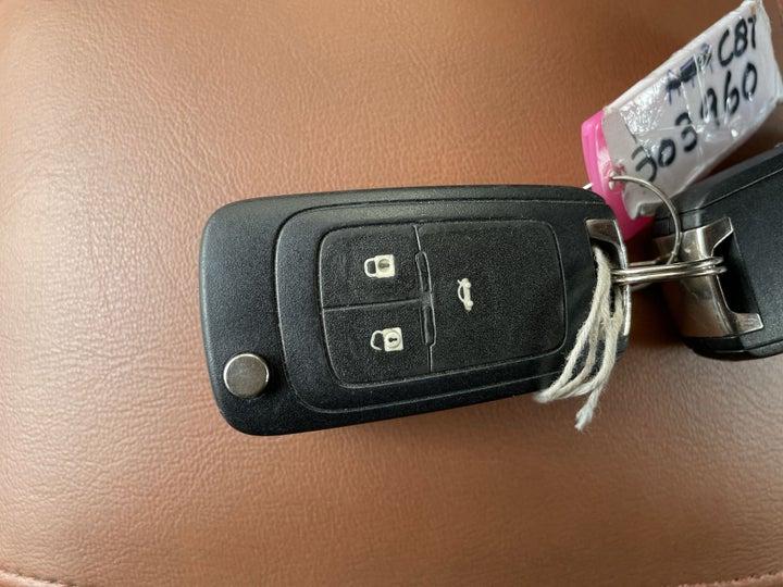 Chevrolet Cruze-KEY CLOSE-UP