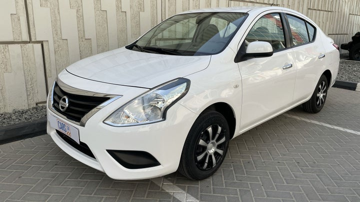 Nissan Sunny-LEFT FRONT DIAGONAL (45-DEGREE) VIEW