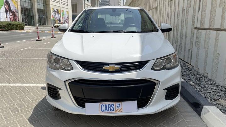 Chevrolet Aveo-FRONT VIEW