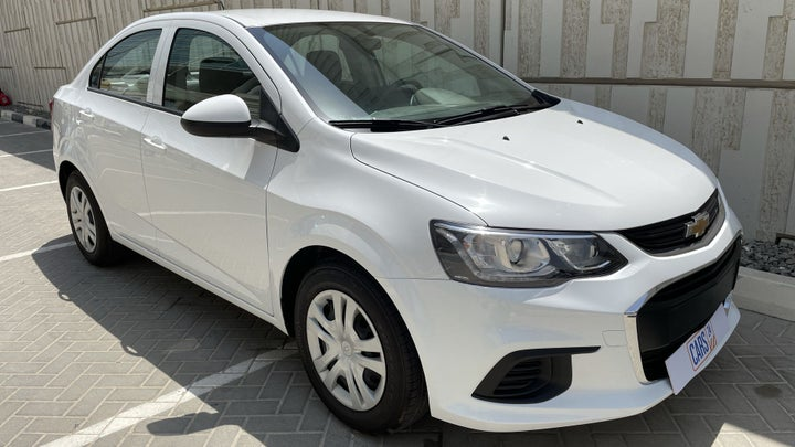 Chevrolet Aveo-RIGHT FRONT DIAGONAL (45-DEGREE) VIEW