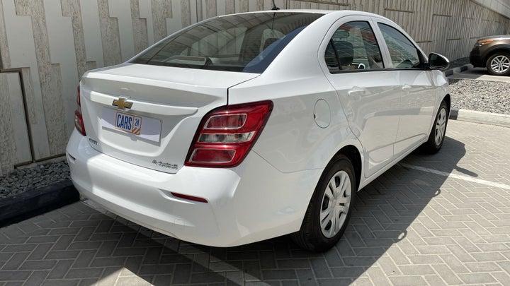 Chevrolet Aveo-RIGHT BACK DIAGONAL (45-DEGREE VIEW)