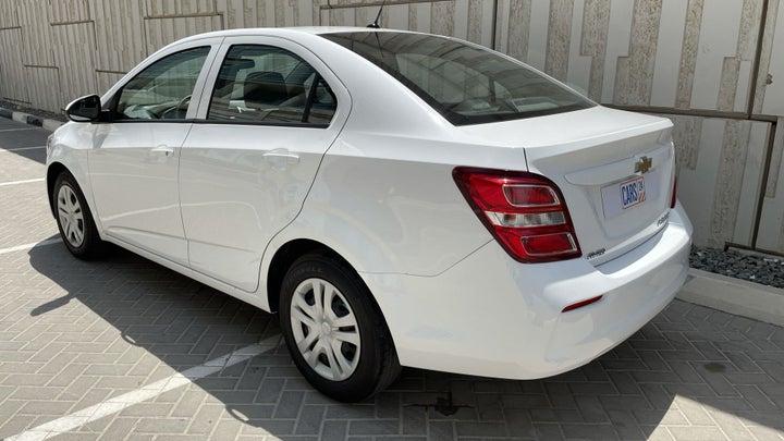 Chevrolet Aveo-LEFT BACK DIAGONAL (45-DEGREE) VIEW