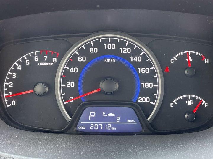 Hyundai Grand i10-ODOMETER VIEW