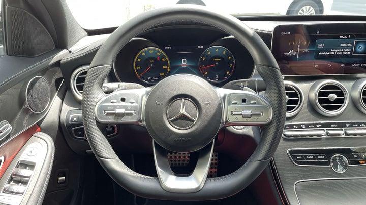 Mercedes Benz C-Class-STEERING WHEEL CLOSE-UP