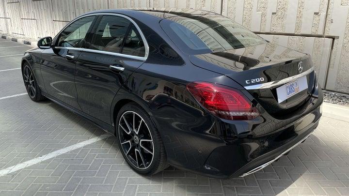 Mercedes Benz C-Class-LEFT BACK DIAGONAL (45-DEGREE) VIEW
