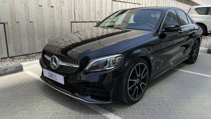 Mercedes Benz C-Class-LEFT FRONT DIAGONAL (45-DEGREE) VIEW
