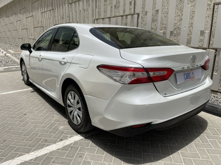 Toyota Camry-LEFT BACK DIAGONAL (45-DEGREE) VIEW