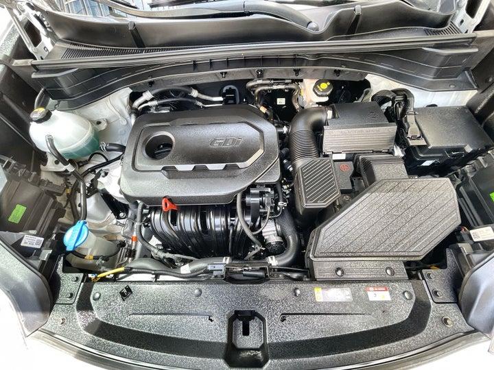 Kia SPORTAGE-OPEN BONNET (ENGINE) VIEW