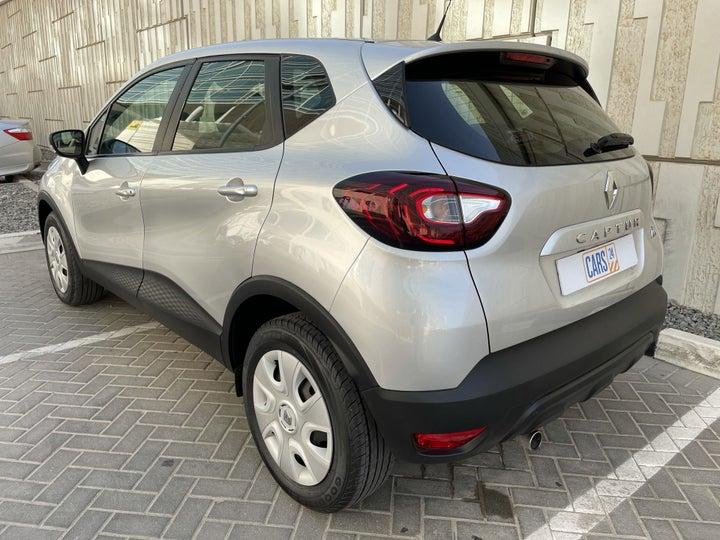 Renault Captur-LEFT BACK DIAGONAL (45-DEGREE) VIEW