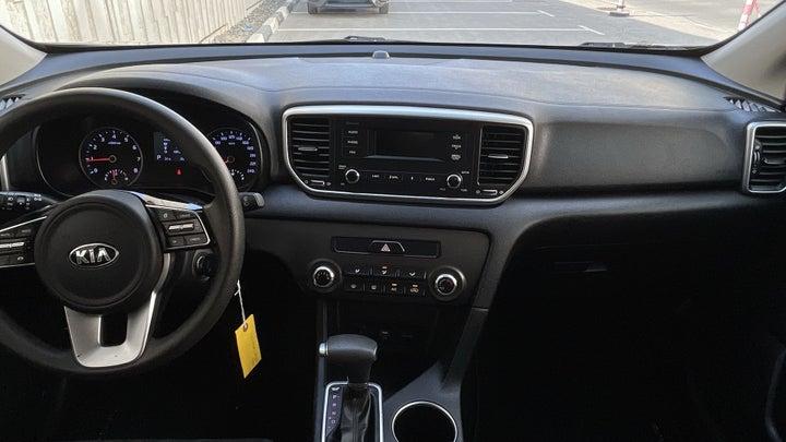 Kia Sportage-DASHBOARD VIEW