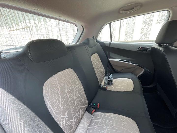 Hyundai Grand I10-RIGHT SIDE REAR DOOR CABIN VIEW
