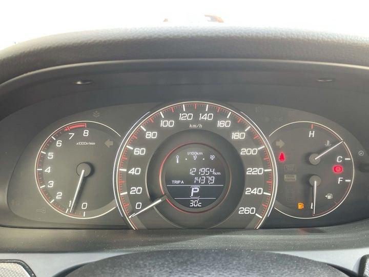 Honda Accord-ODOMETER VIEW