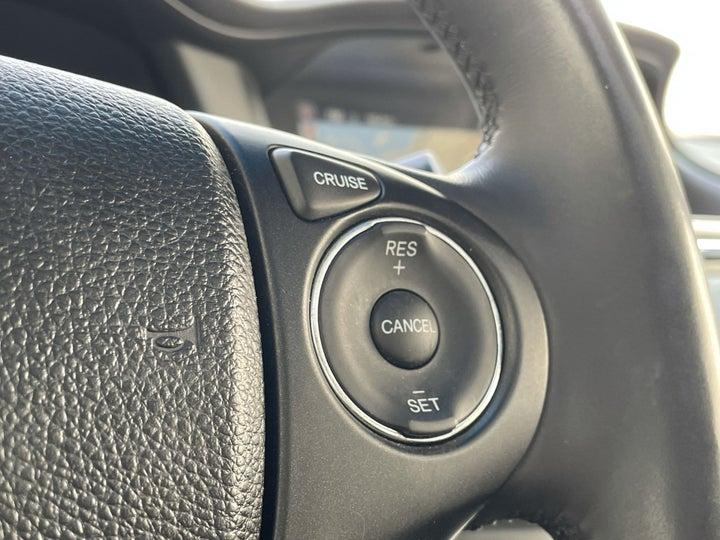 Honda Accord-CRUISE CONTROL