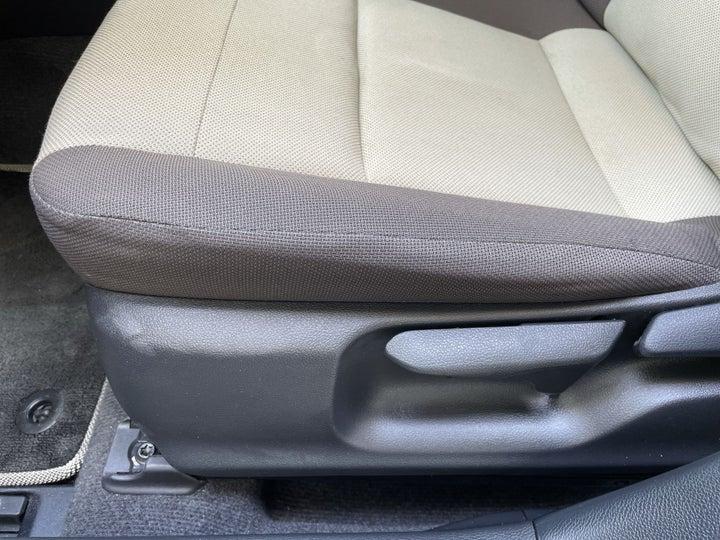 Toyota Corolla-DRIVER SIDE ADJUSTMENT PANEL