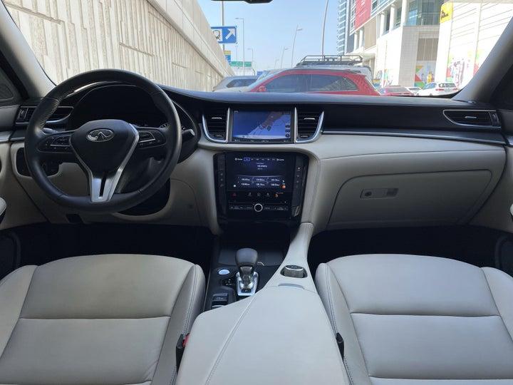Infiniti QX50-DASHBOARD VIEW