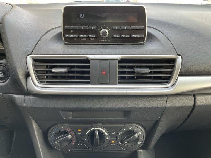 Mazda 3-CENTER CONSOLE