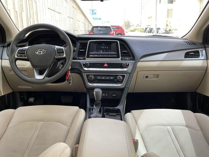 Hyundai Sonata-DASHBOARD VIEW