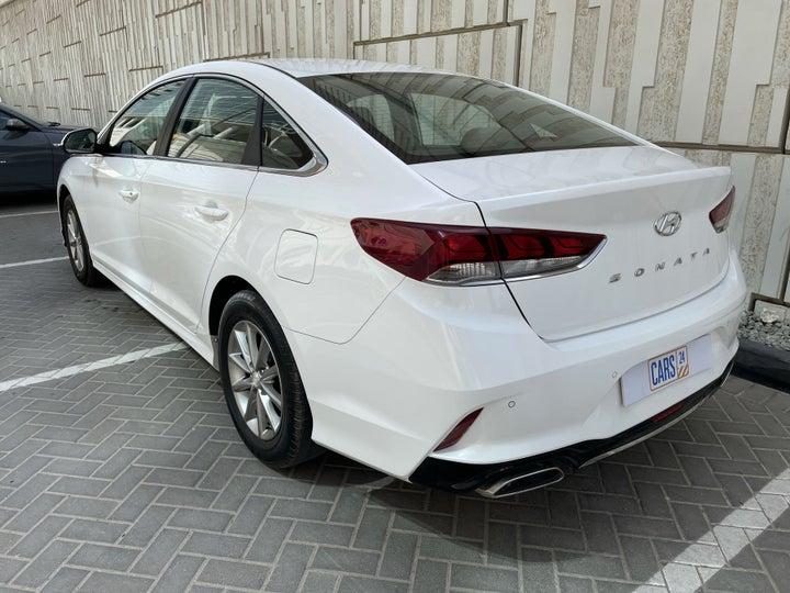 Hyundai Sonata-LEFT BACK DIAGONAL (45-DEGREE) VIEW