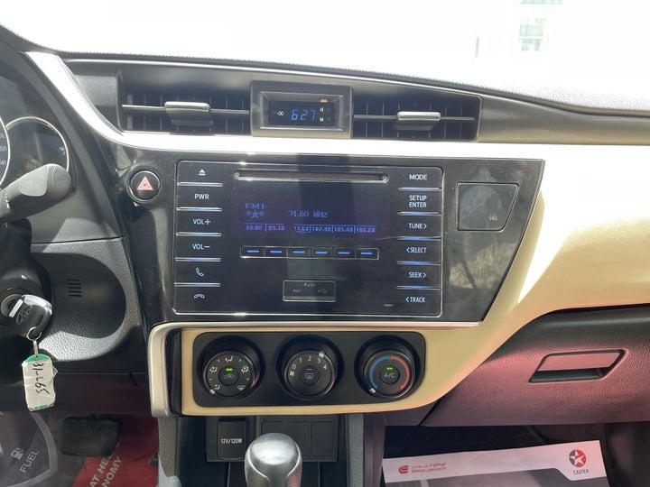 Toyota Corolla-CENTER CONSOLE