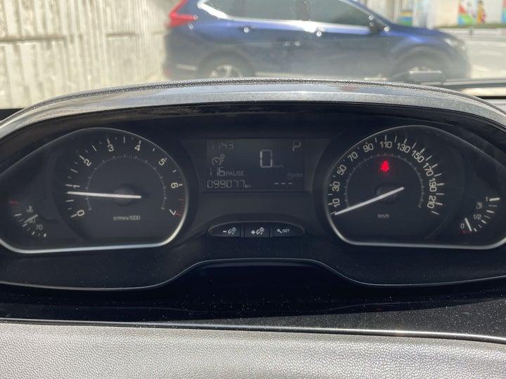 Peugeot 208-ODOMETER VIEW