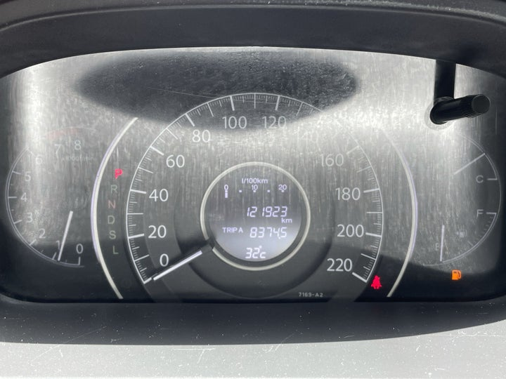 Honda CR-V-ODOMETER VIEW