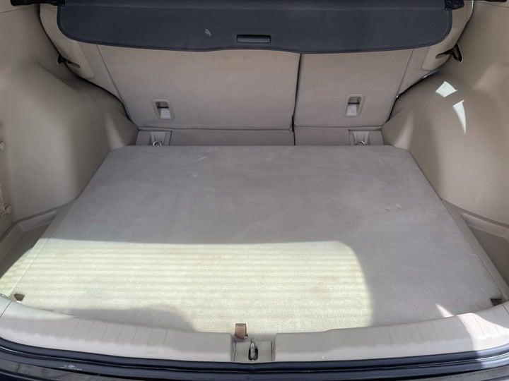 Honda CR-V-BOOT INSIDE VIEW